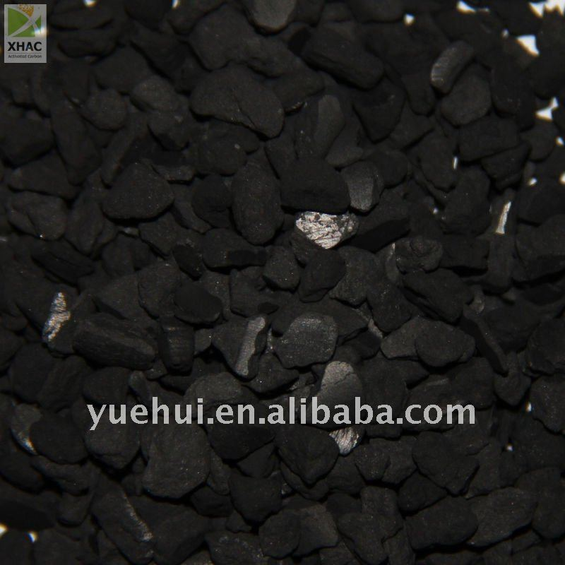 XH BRAND:BRIQUETTED COAL BASE ACTIVTED CARBON FOR WATER PURIFICATION