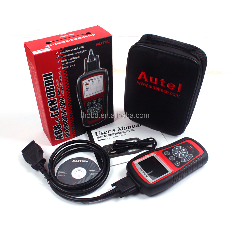 Autel Distributor 100% Original Autel AutoLink AL609 ABS CAN OBDII Car Diagnostic Tool