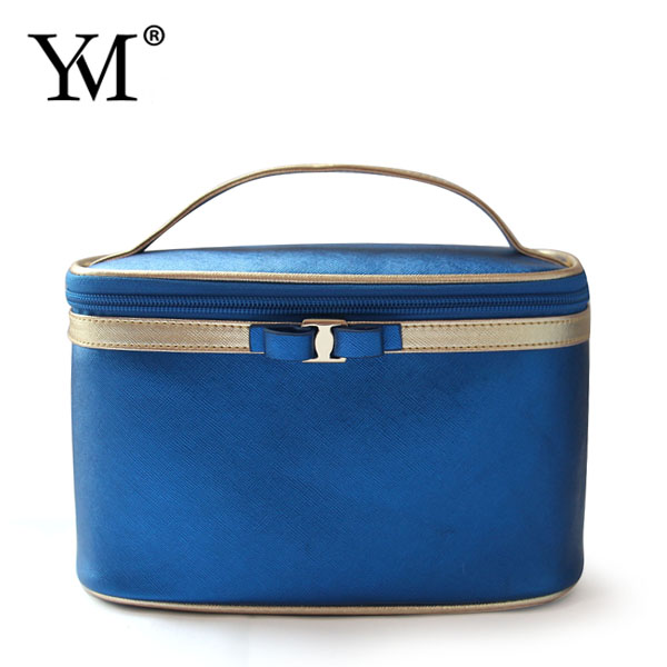 Promotion ! professional PU leather private label cosmetic bags cases