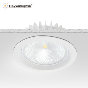 Plastic lamp body design 12w led ceiling downlight with CE&RoHS Approval