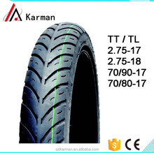 Popular 70/80-17 , 80/90-17 , 2.25-17 , 2.50-16 tires motorcycle