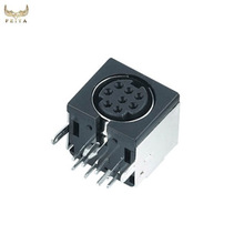 Factory direct price manufacture 8 pin mini din connector,electrical connector