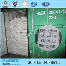 leather chemicals sodium formate solid 92% 95% 98%