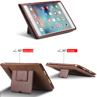 QIALINO Hot Sale Premium Luxury Leather Stand Case For iPad mini mini 2 mini 3