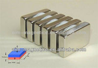 Block High Quality Sintered Neodymium Magnet/ Super Powerful Magnets