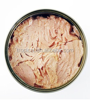 Canned Net Light Meat Tuna Skip Jack Solid Tuna with Sunflower oil