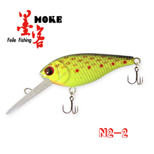 Hot-selling 8cm/6.2g fishing hard bait lures,stainless steel hanging hook
