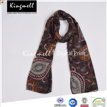 Soft Touching Customizable Egyptian Style Silk Modal Scarf For Women