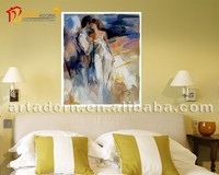 Abstract Painting Men Sex Women Picture for Living Room