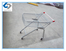70L volume Zinc plated Shopping Trolley Carts