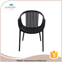High quality fancy style cheapest dining room chairs black lacquer