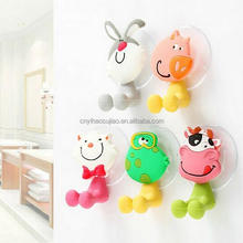 hot selling silicone toothbrush head holder kids animal