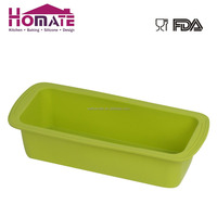large rectangle square shaped silicone cake bread toast baking pan mold mould mode bakeware ovenware