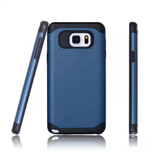 Hot Sale Newest 2 in1 TPU PC Combo Cell Phone Case For Samsung Galaxy S6 Egde Plus From Manufacturer