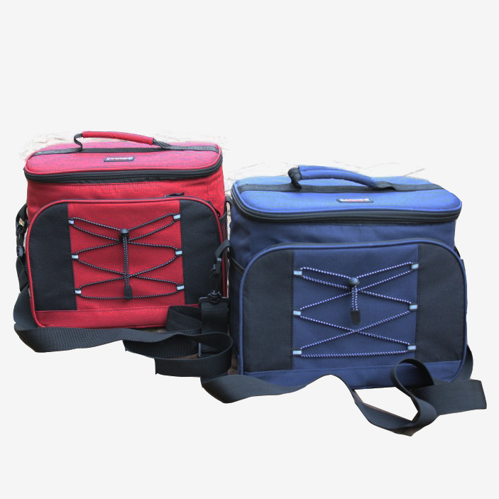 Large volume waterproof thick thermal cooler bag for family keep food cooling / hot insulated lunch box car ice bag