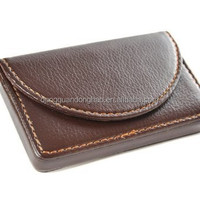 Leather Business Name Card Case Wallet