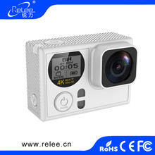 2017 NTK96660 dual screen waterproof action camera be unique ultra hd 1080p 60fps 4k 30fps manual sport dv action cam with wifi