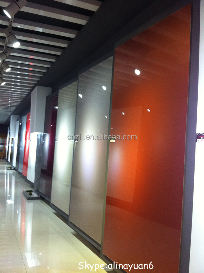 High Gloss Laminate Sheet 1mm Thick Plastic Sheet Low