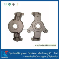 aluminum die casting part strong style color casting strong component