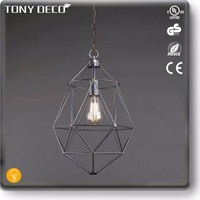 BAA60495 Dark Silver India Style Ceiling Lamp For Bus Manufacture