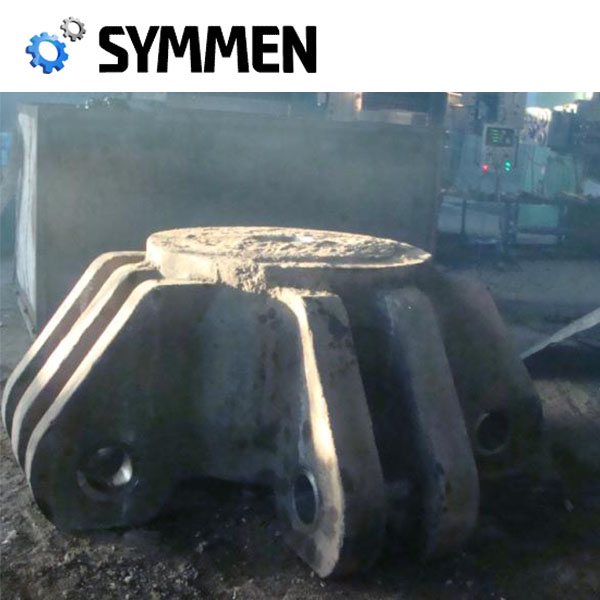 Heat Treatment S355Jr Iso Certified Foundry Oem Casting Forging Jaw Crusher Parts With Iso Certificate