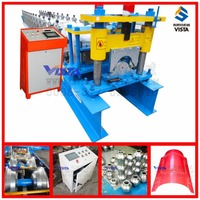 ridge cap tile machine, aluminium profile making machine