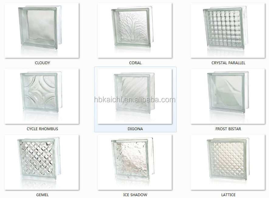 Colored hollow glass block with factory price buy glass for Hollow glass blocks for crafts