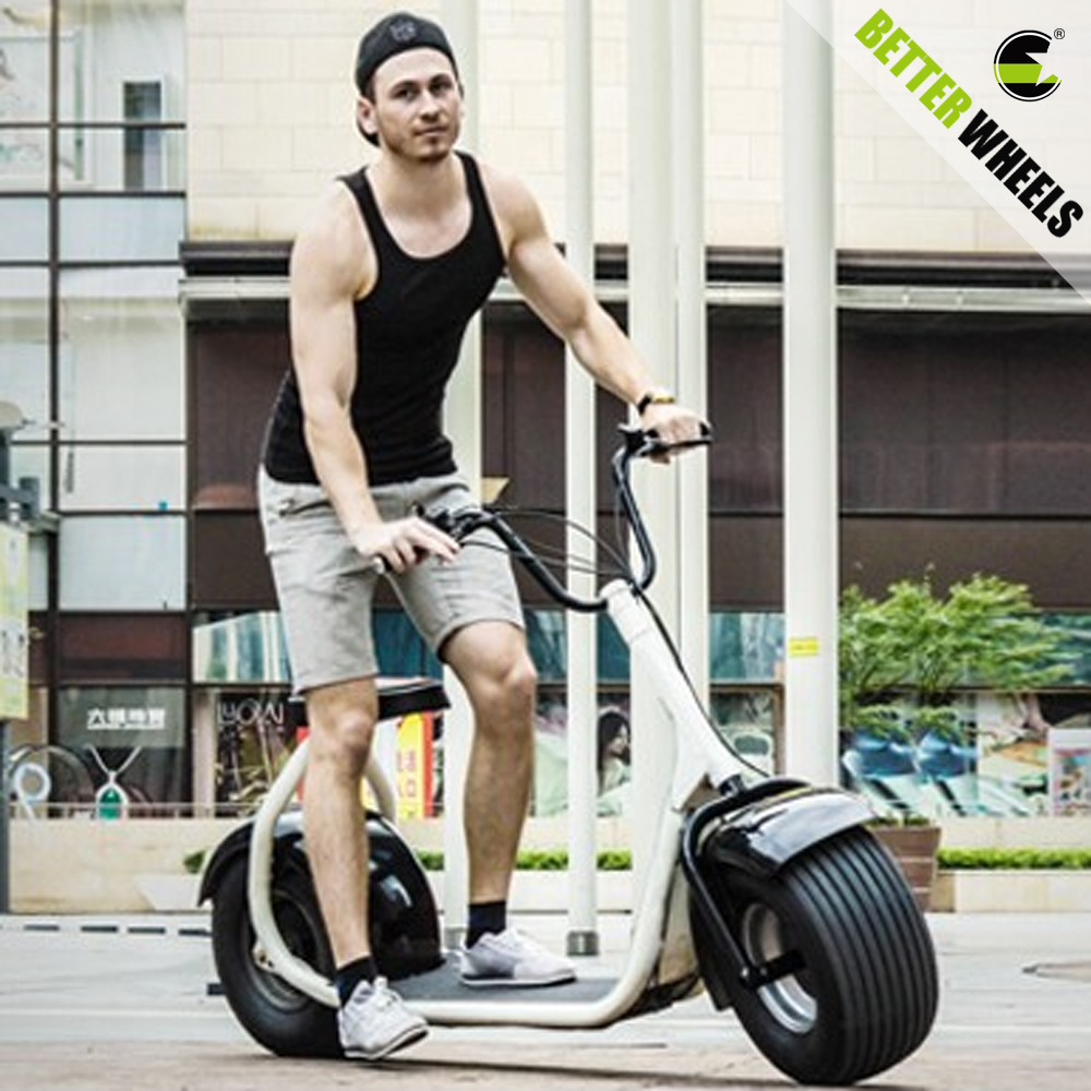 Citycoco big wheels cheap 1200W electric powerful <strong>motorcycle</strong>