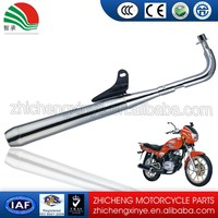 aluminum Zhicheng motorcycle muffler for wholesale