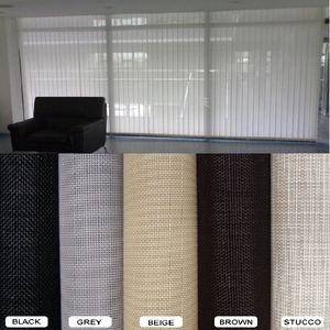 Rolls of Sunscreen Roller Blind Fabric for Vertical Blinds