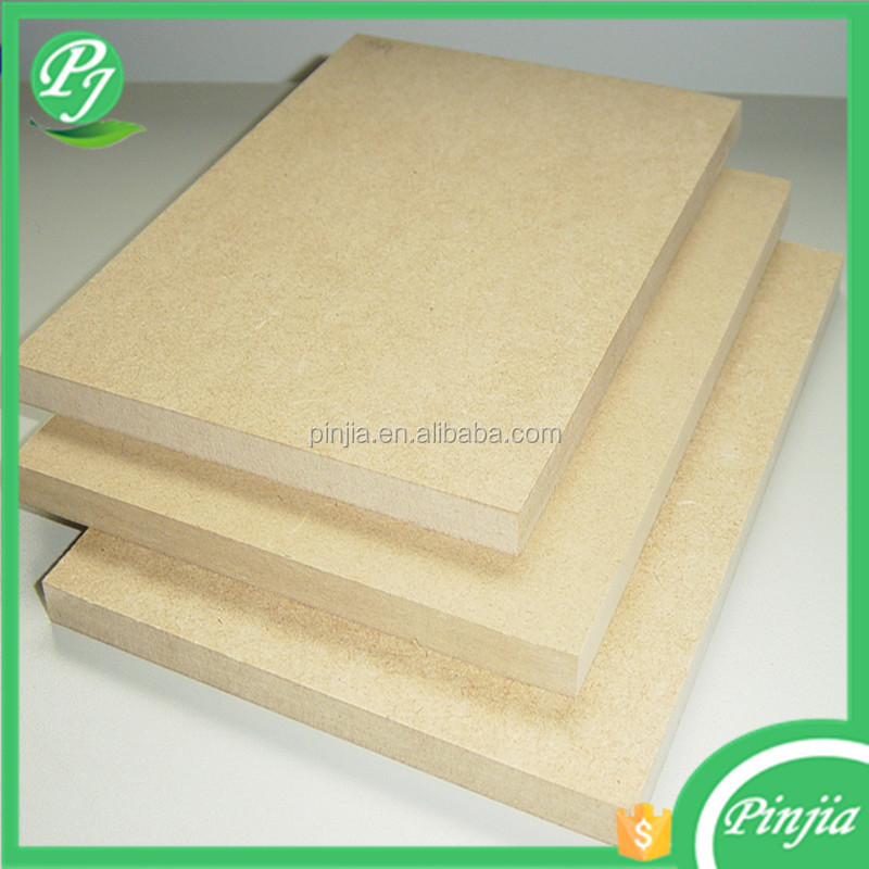 semi-hardboard fibreboard type plain mdf/hdf wood price UV HDF/MDF panel