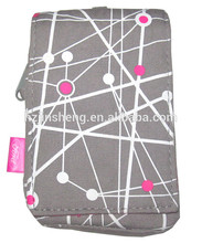 Custom printed cell phone bag polyester knit mobile phone bag