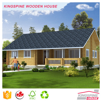 Indian three bedroom prefabricated wood home log cabin low for 3 bedroom log cabin prices