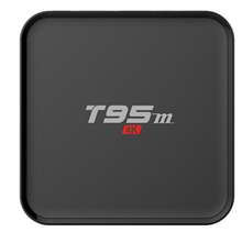 2017 best selling smart tv box T95N S905X 1gb 8gb android tv box android 6.0 OS T95N T95X T95M