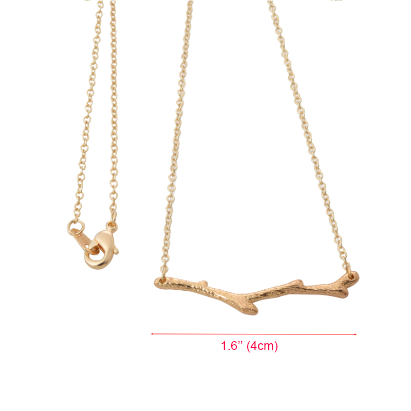 2016 Latest Design Gold Tree branch Model men chain necklace designs