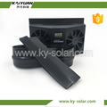 auto solar power ventilation small size cool car fan stylish