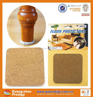 2015 adhesive cork floor furniture moving pads and protector
