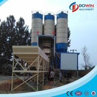 Low price elba concrete batching plant 60m3 for sale