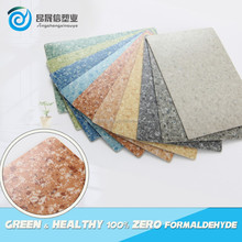 commercial plastic mable pvc flooring roll for office