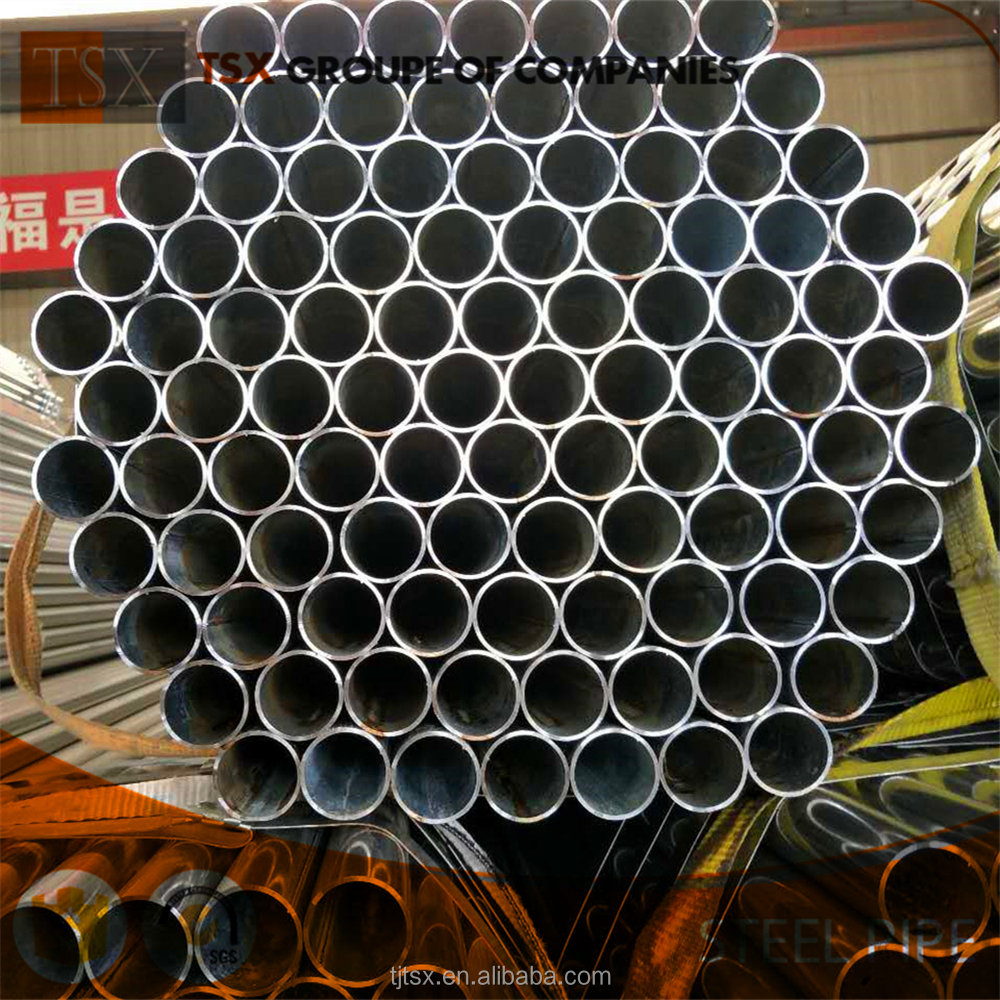 "TSX-GI2031 Hot Dipped Galvanized Steel Scaffolding SCH40 culvert pipe 3/4"" gi pipe"
