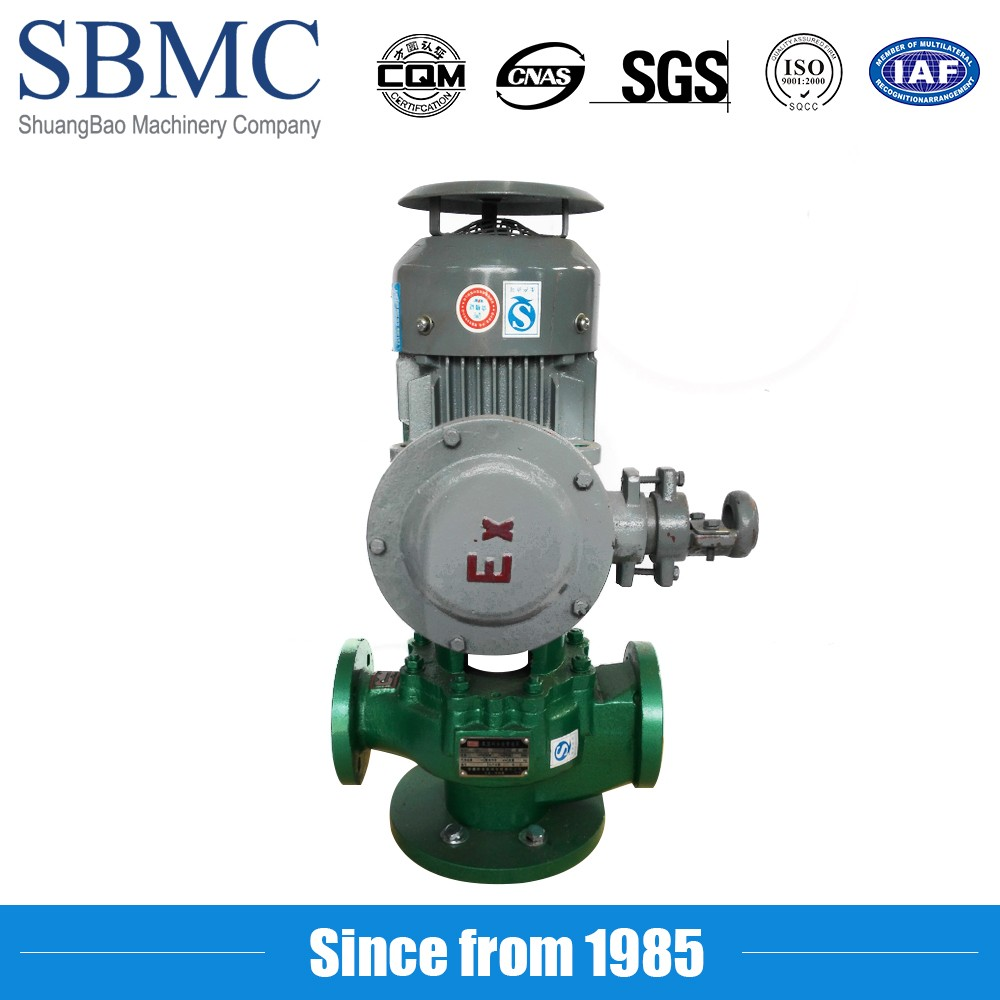 High efficiency anti-corrosive chemical industry in line pumps