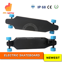 Super Power Electric Skateboard 1800W 6500mAh Carbon Fiber Deck Change Your Way of Transportation