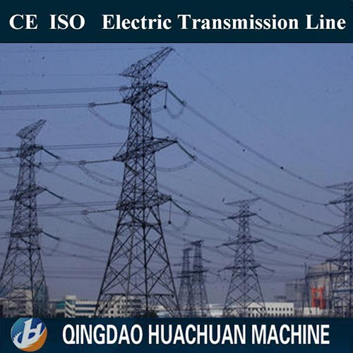 33kv electric power transmission steel pole tower