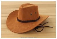 cheap wholesale price 100%wool feeling mans cowboy hat