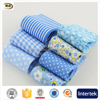 Blue theme 100% cotton fabric strips tildas jelly roll for sewing scrapbooking crafts quilting patchwork