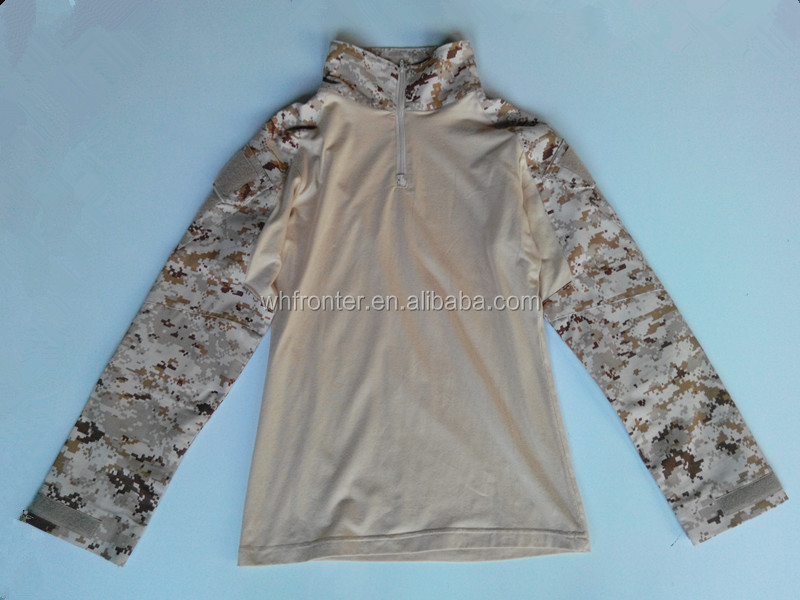 Cheap Fog suit jacket and pants Digital desert camo military tactical suits