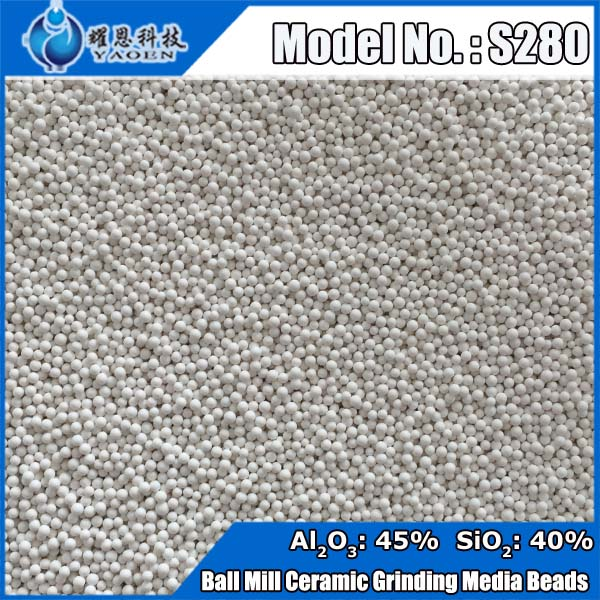 Superfine Ultrafine Particle Ceramic Ball Sand Mill Grinding Media