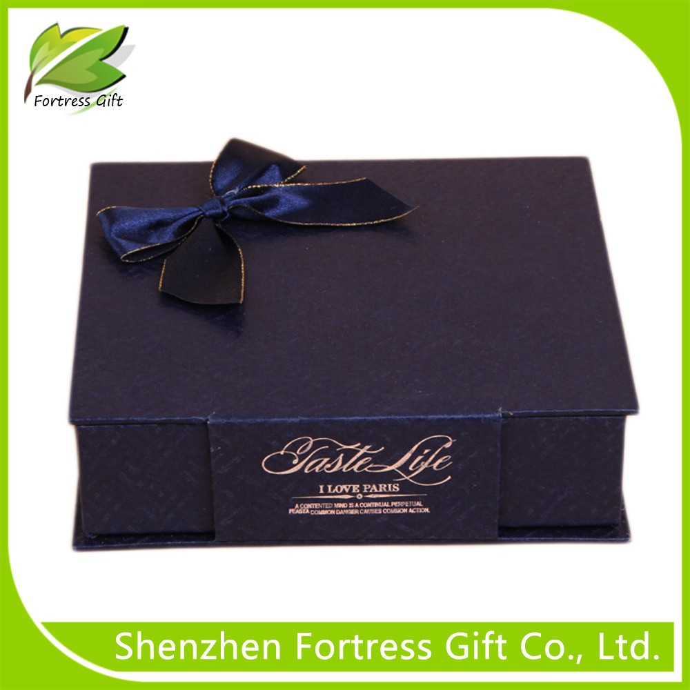Romantic dark purple gift boxes & reusable paper box and paper gift box