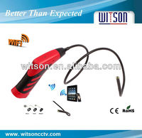 WITSON wireless borescope endoscope Supporting Apple&Android devices,display real-time video