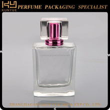 New design paris france empty glass perfume bottle for sale